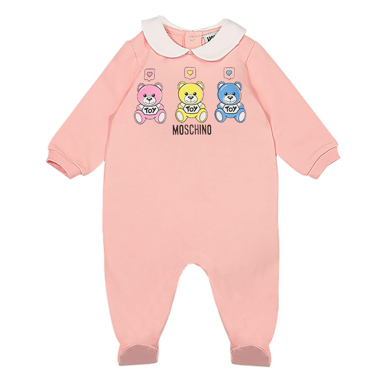 Bild von Moschino MNT01O Babystrampelanzug Pink