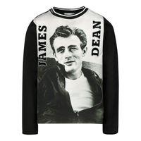 Picture of Dolce & Gabbana L1JT8Q / G7VSG baby shirt dark gray