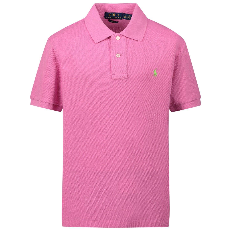 Bild von Ralph Lauren 323708857 Kinder-Poloshirt Pink