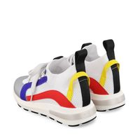 Picture of Dsquared2 67053 kids sneakers white