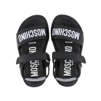 Picture of Moschino 67374 kids sandals black