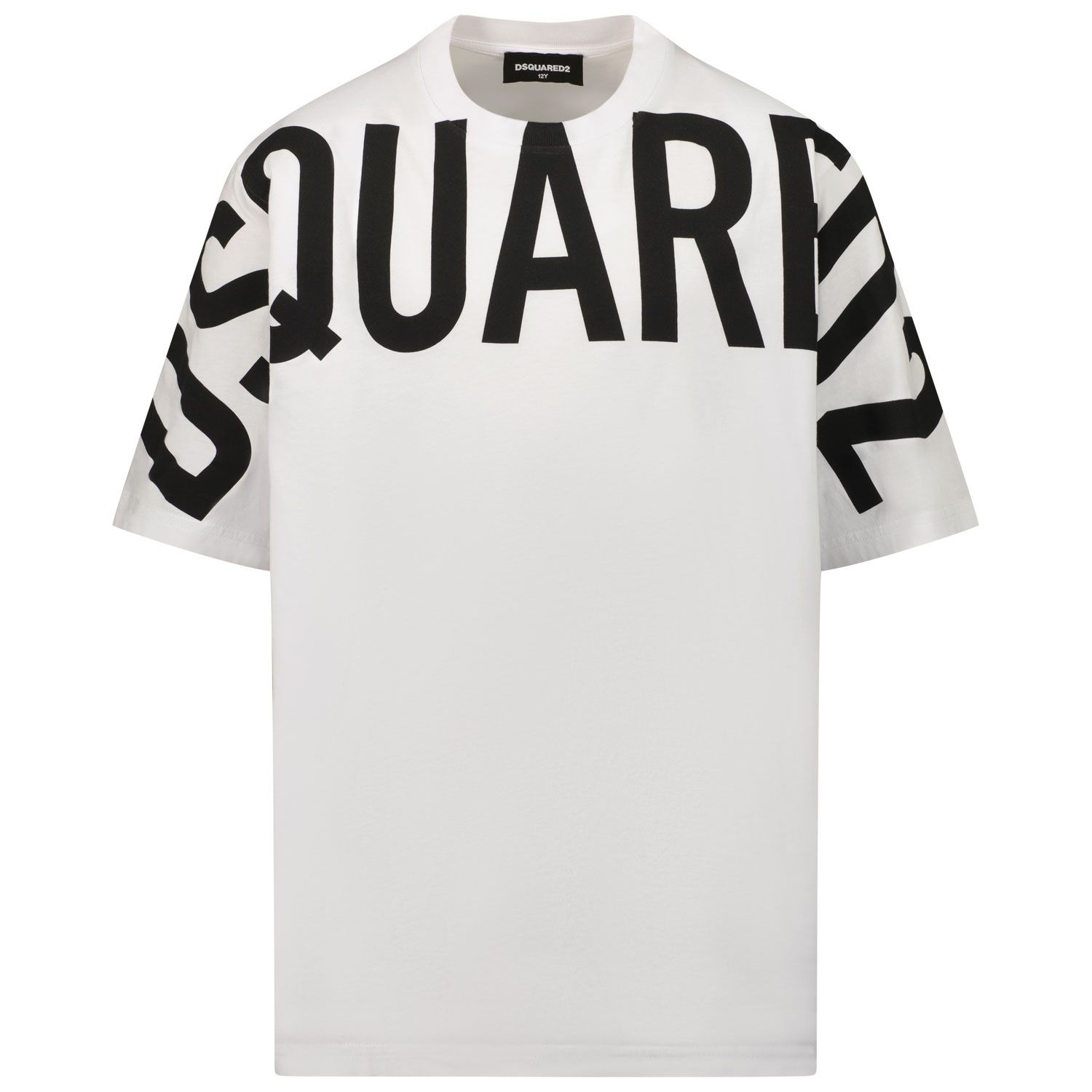 Picture of Dsquared2 DQ0526 kids t-shirt white