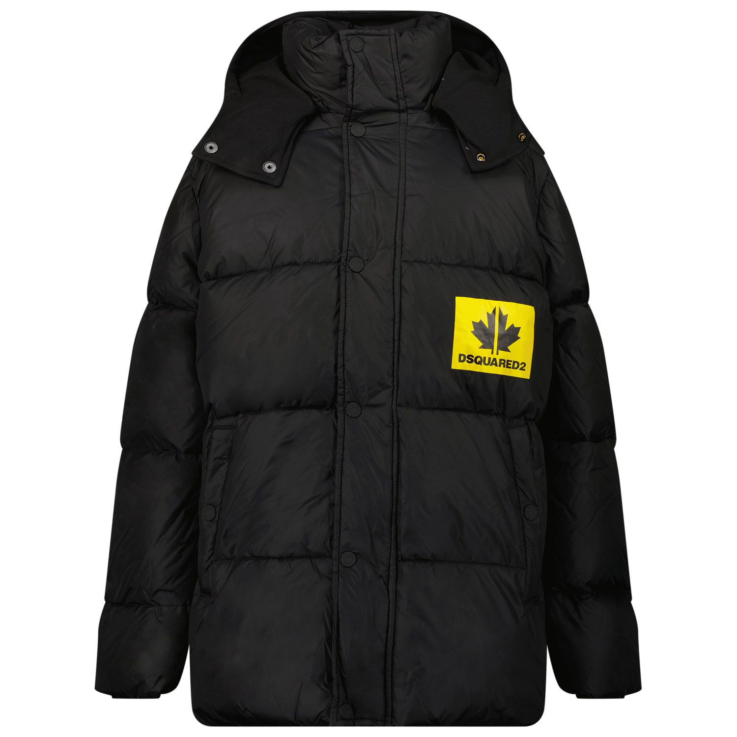 Picture of Dsquared2 DQ0319 kids jacket black