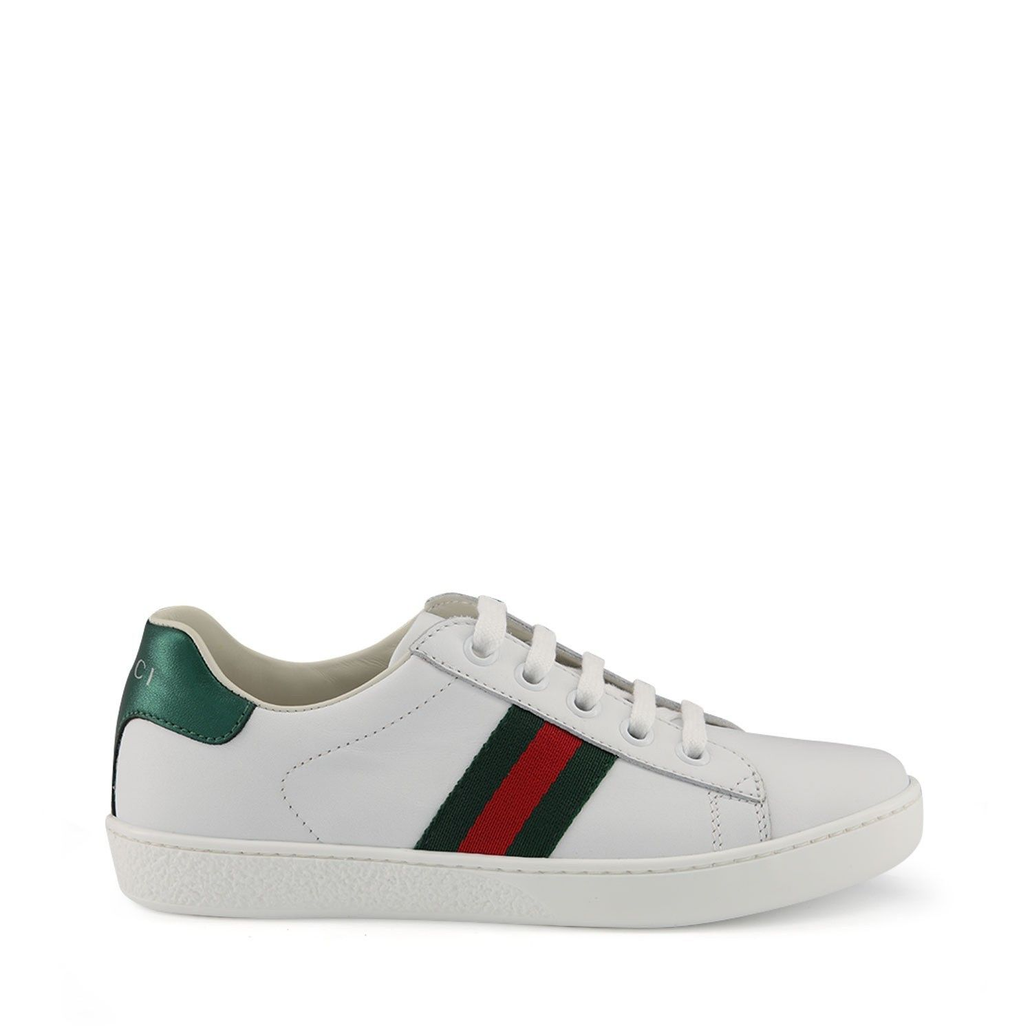 Picture of Gucci 433146 kids sneakers white