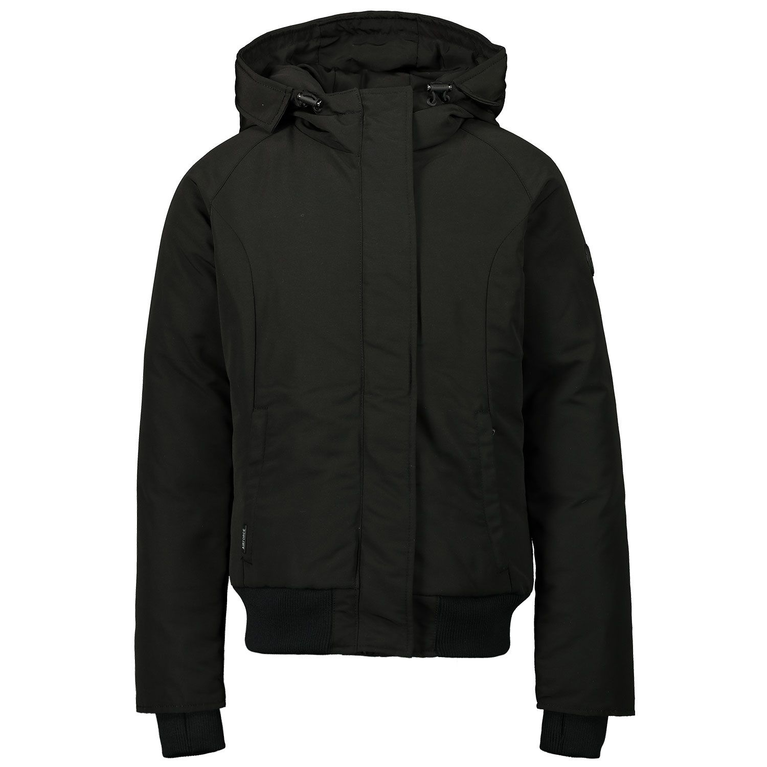 Picture of Airforce HRG0647 kids jacket black