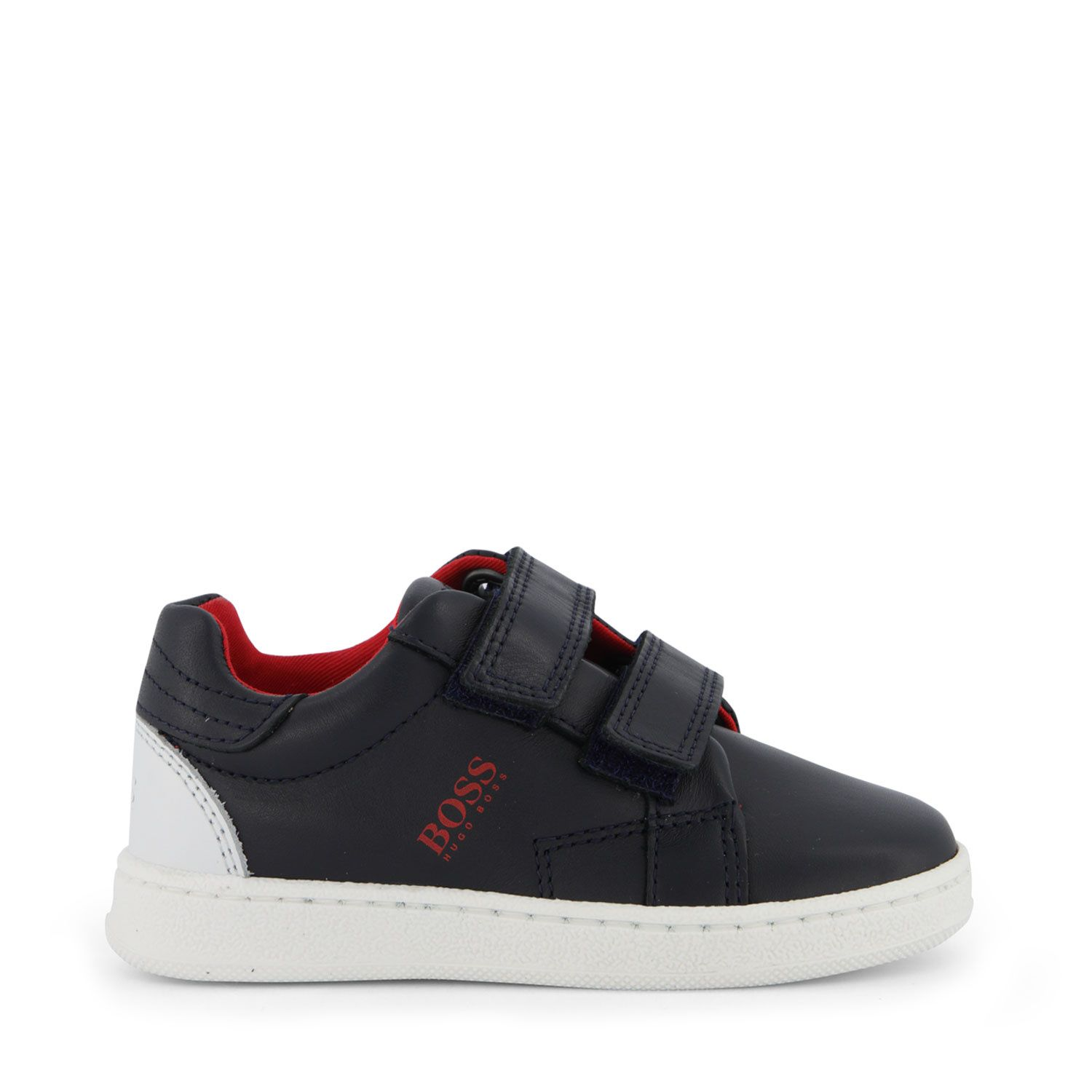 Picture of Boss J09146 kids sneakers navy