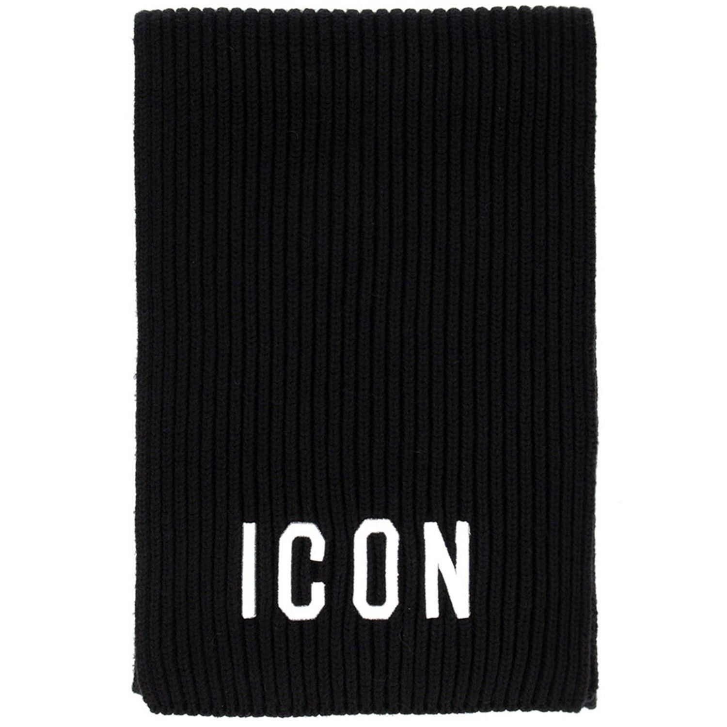Picture of Dsquared2 DQ03U5 baby scarf black