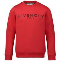 Picture of Givenchy H25145 kids sweater red