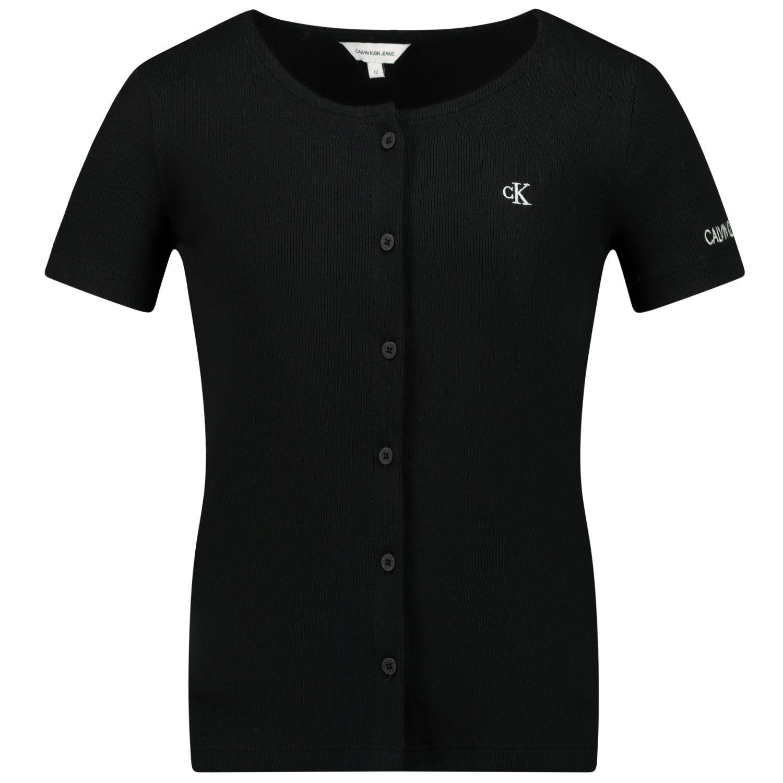 Picture of Calvin Klein IG0IG00765 kids t-shirt black
