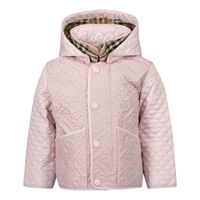 Picture of Burberry 8036658 baby coat light pink