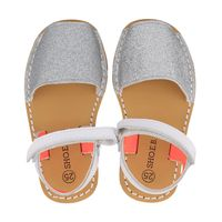 Picture of EB 3801 kids sandals silver