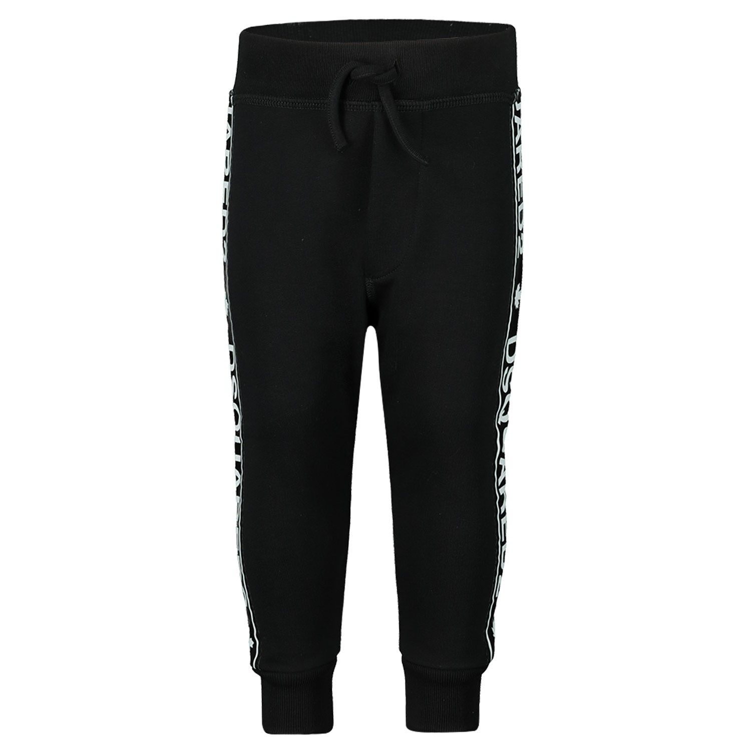Picture of Dsquared2 DQ03NB baby pants black