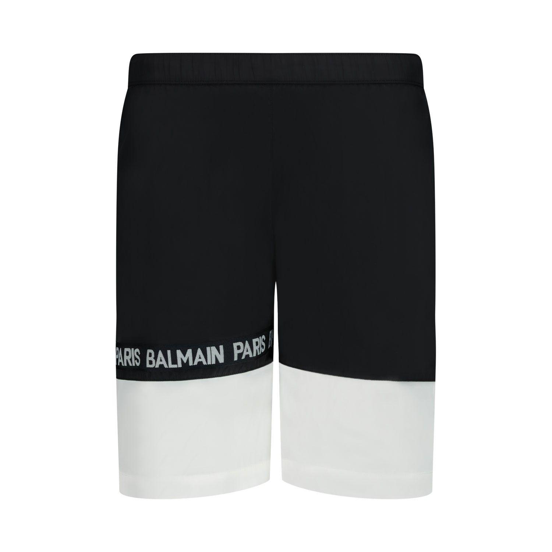 Afbeelding van Balmain 6M0539 kinder zwemkleding zwart