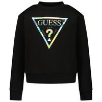Picture of Guess J1YQ16 kids sweater black