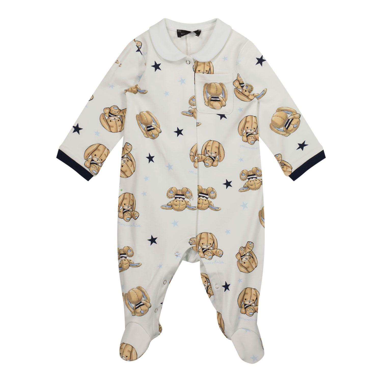 Bild von MonnaLisa 228207 Babystrampelanzug Creme