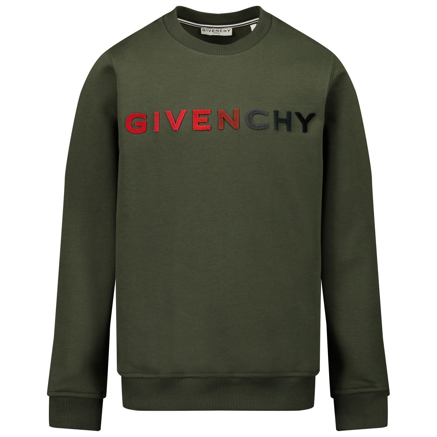 Picture of Givenchy H25224 kids sweater army