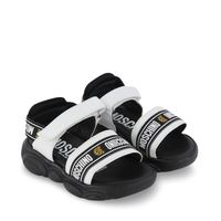 Picture of Moschino 67380 kids sandals white