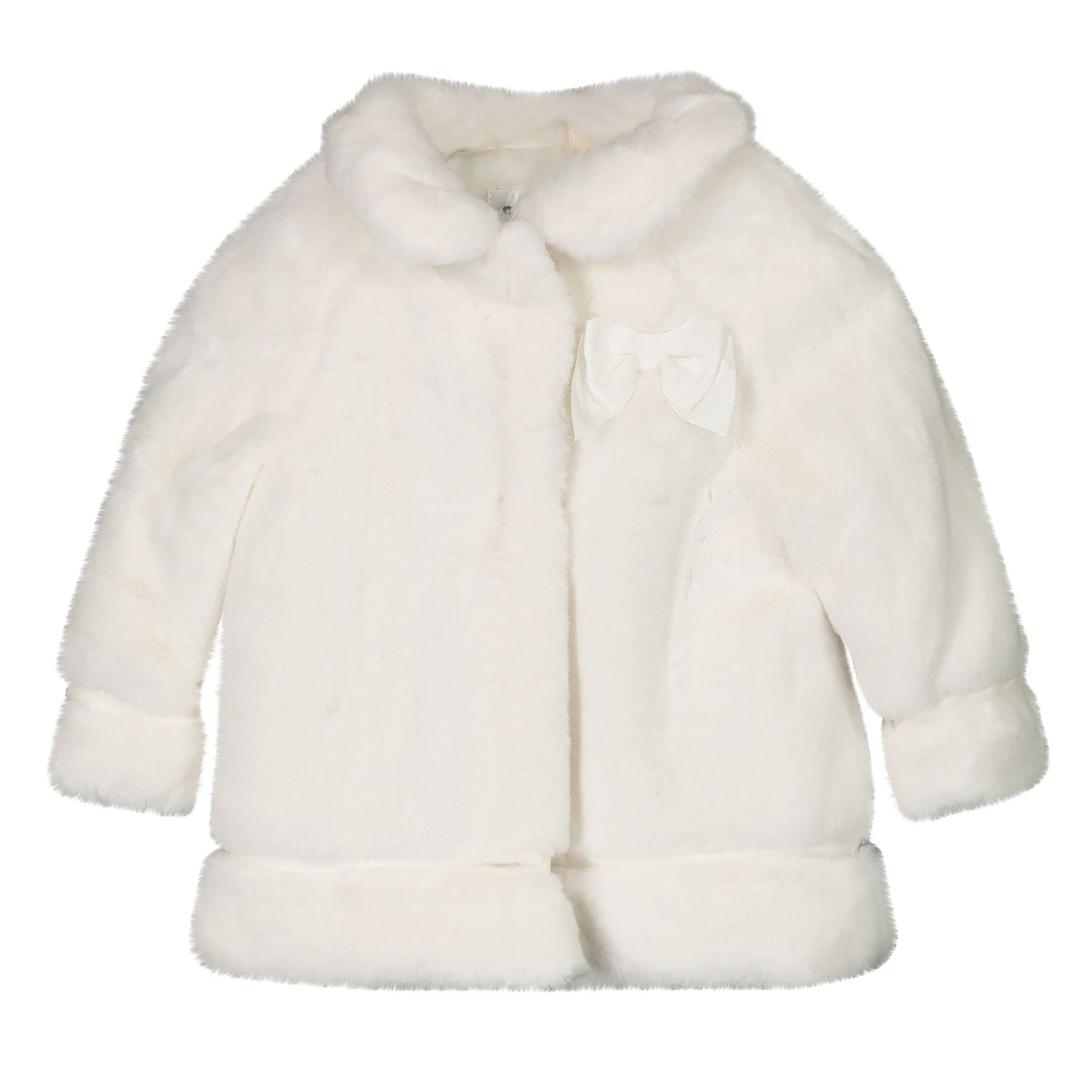 Picture of Mayoral 2465 baby coat off white
