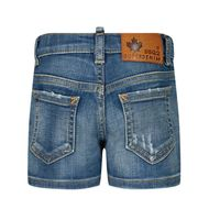Afbeelding van Dsquared2 DQ00WG baby shorts jeans