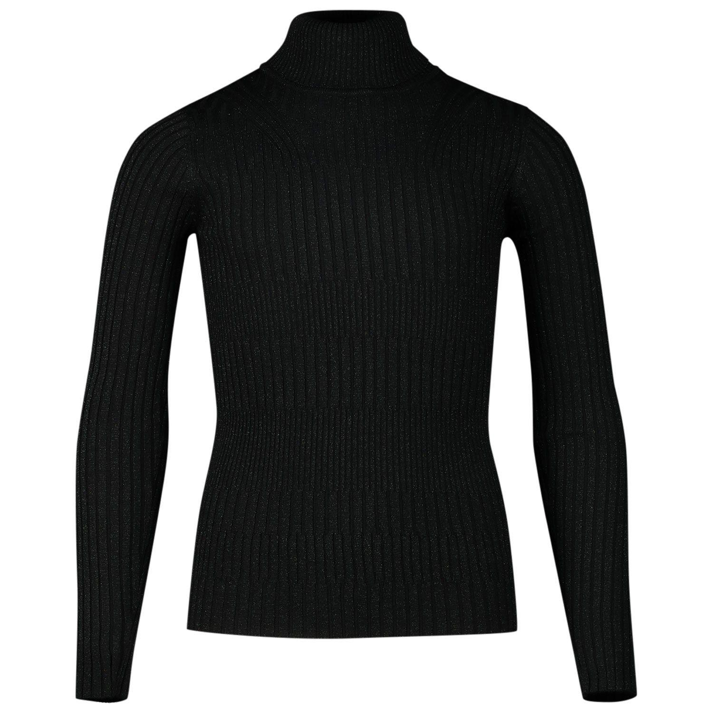 Picture of Jacky Luxury JGFF19012 kids t-shirt black