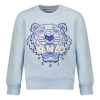 Picture of Kenzo K05092 baby sweater light blue