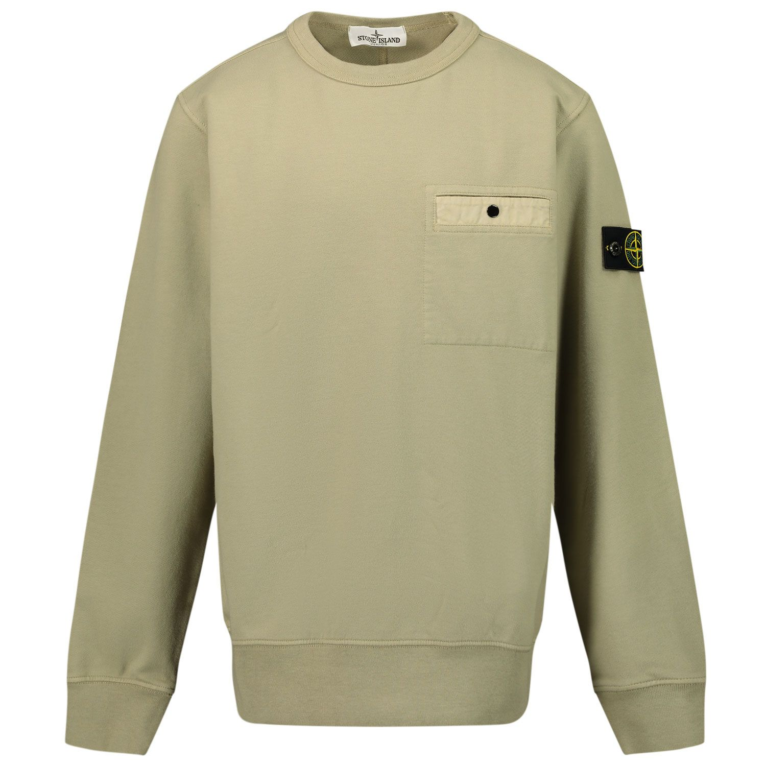 Picture of Stone Island 60142 kids sweater beige
