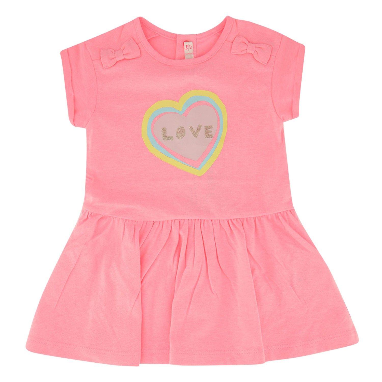 Picture of BillieBlush U02268 baby dress fluoro pink