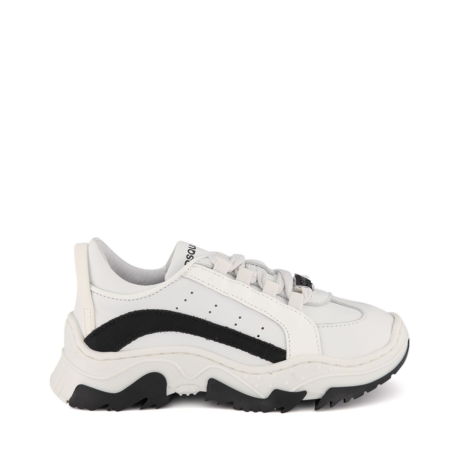 Picture of Dsquared2 63464 kids sneakers white