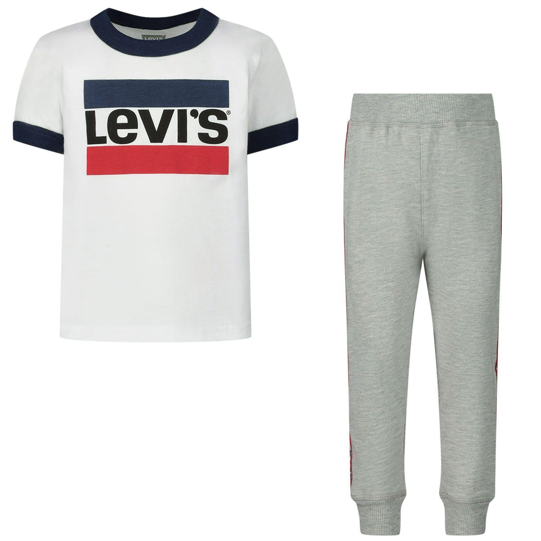 Bild von Levi's A869 Baby-Set Weiß