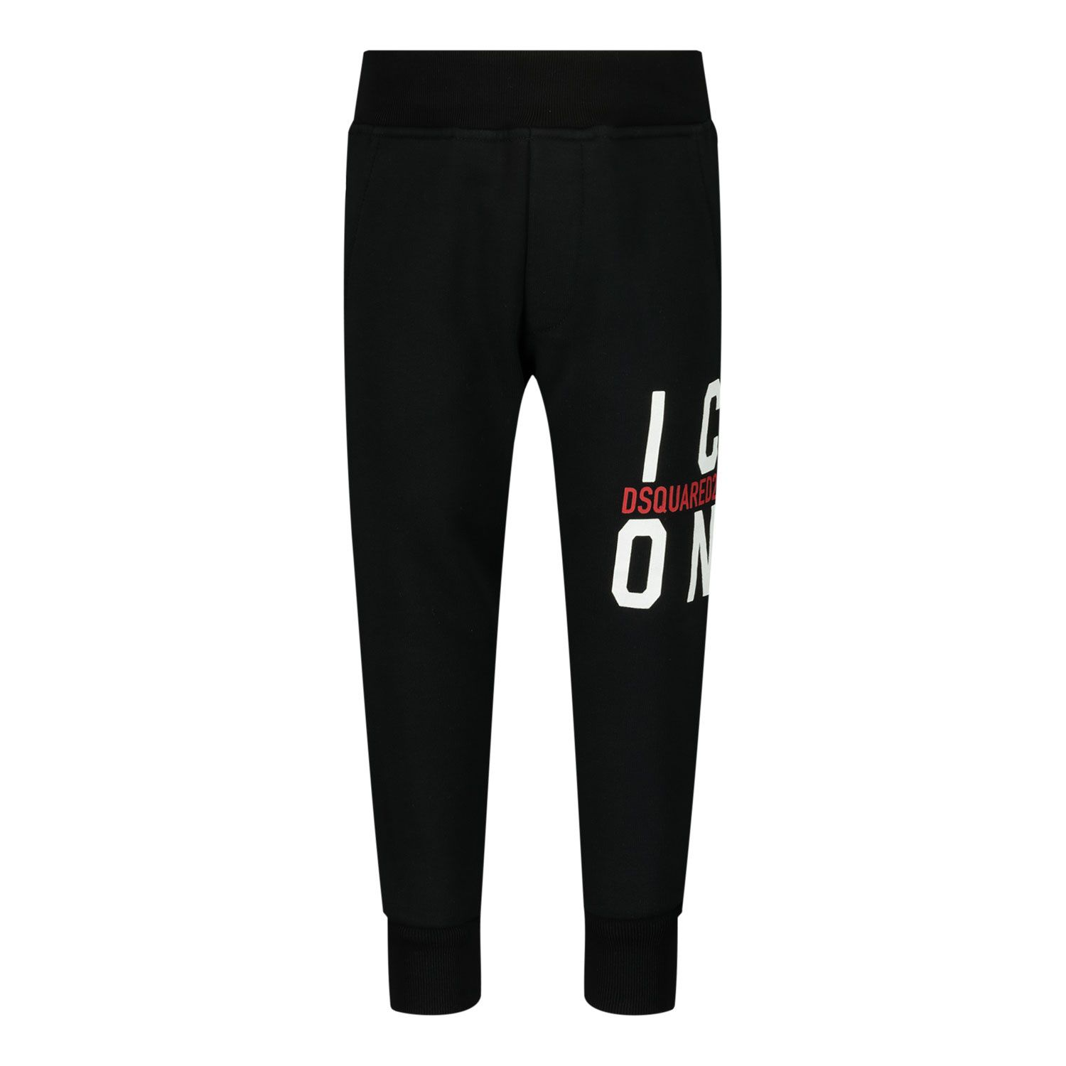 Picture of Dsquared2 DQ0249 baby pants black