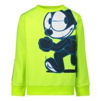 Picture of Iceberg MFICE0329B baby sweater fluoro yellow