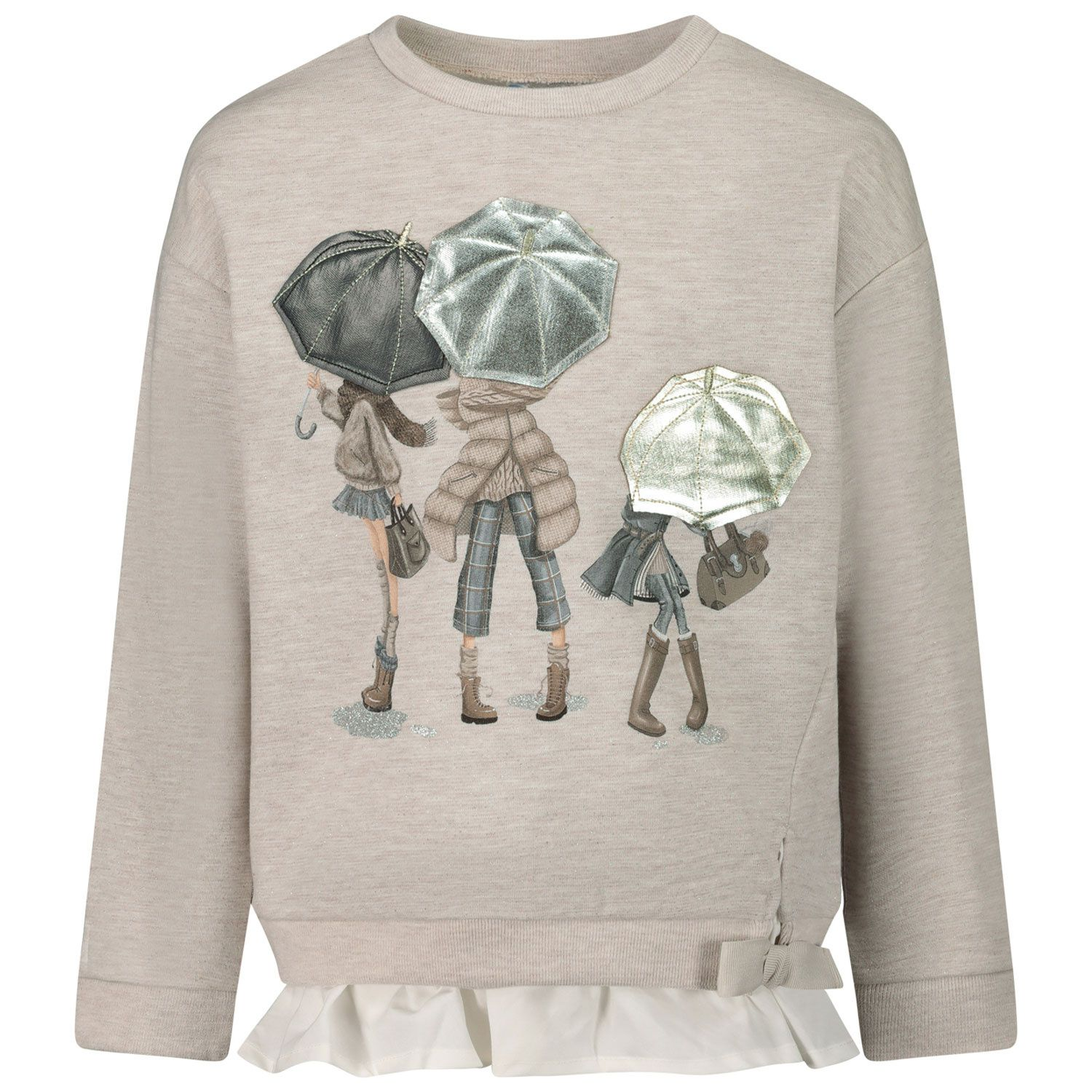 Picture of Mayoral 4401 kids sweater beige