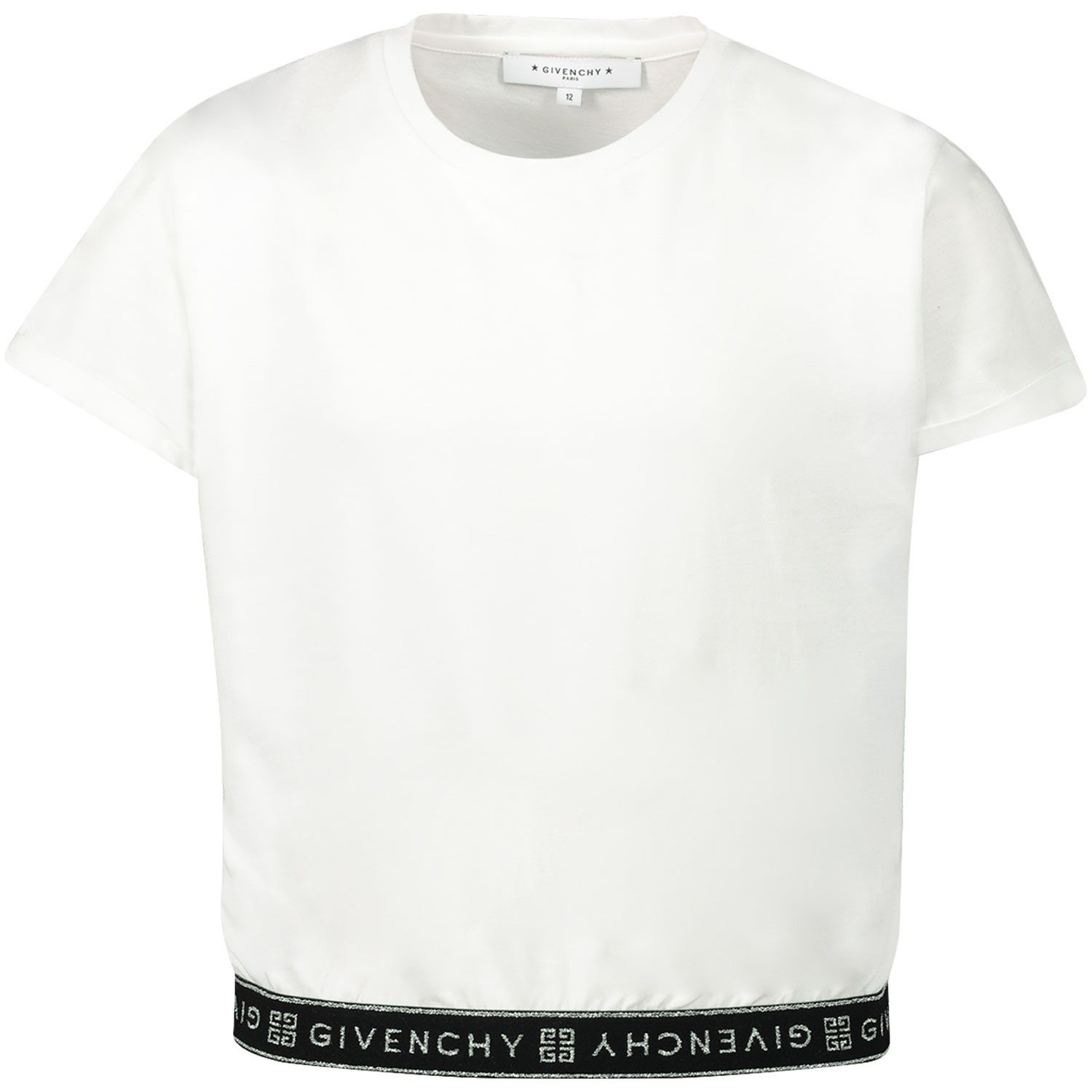 Picture of Givenchy H15150 kids t-shirt white