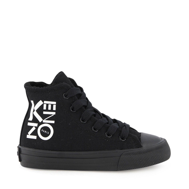 Afbeelding van Kenzo KR81508 KR81518 kindersneakers zwart