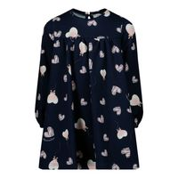 Picture of MonnaLisa 318915 baby dress navy