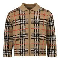 Picture of Burberry 8041262 baby coat beige