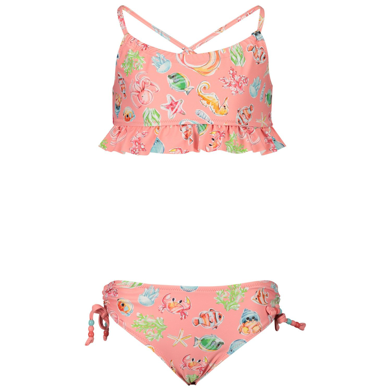 Picture of Mayoral 3743 kids swimwear light pink