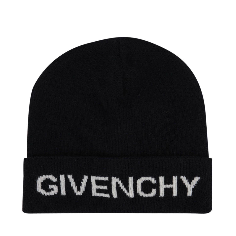 Afbeelding van Givenchy H21038 kindermuts zwart