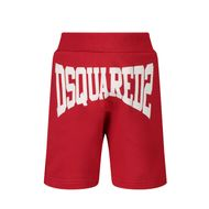 Afbeelding van Dsquared2 DQ0226 baby shorts rood