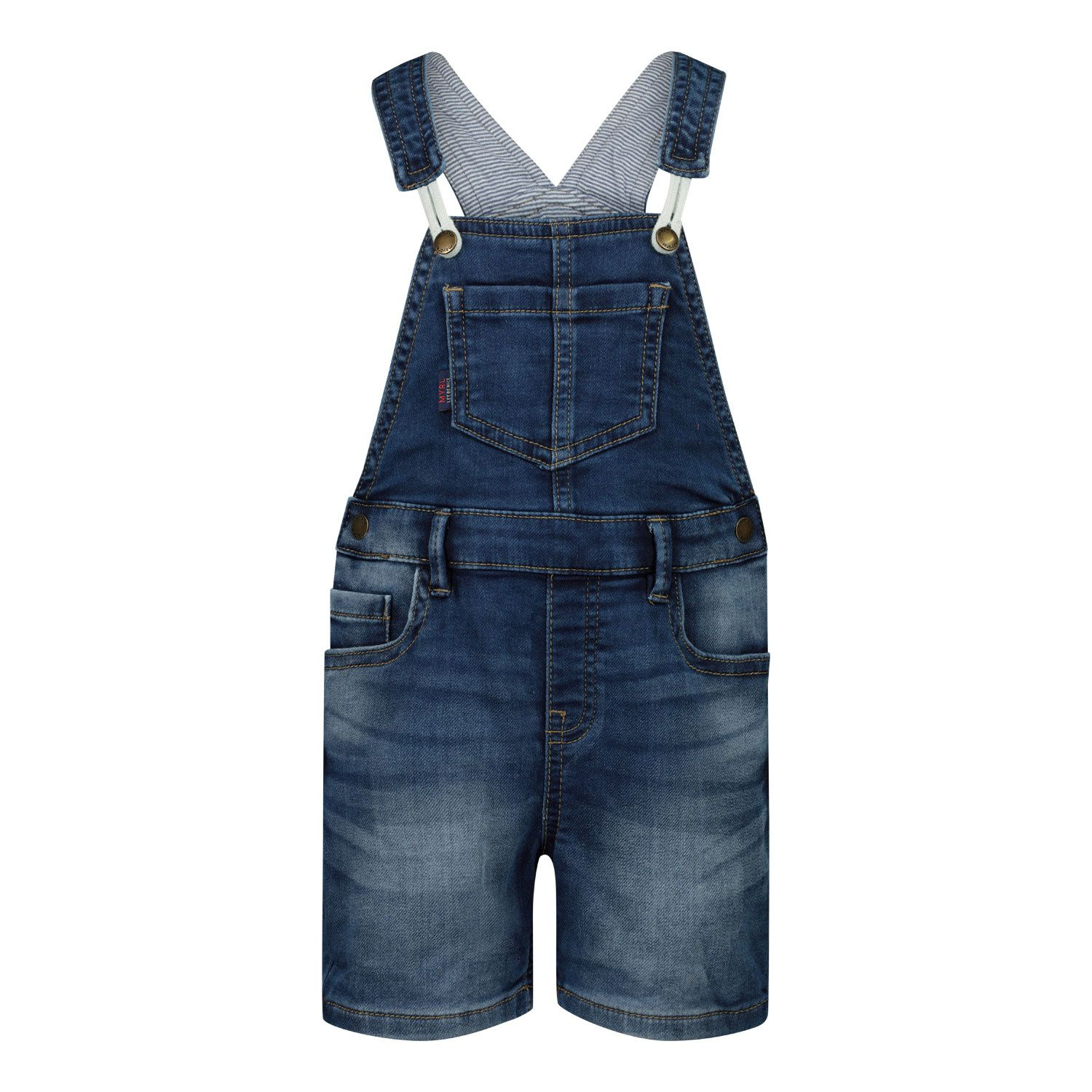 Picture of Mayoral 1664 baby shorts jeans