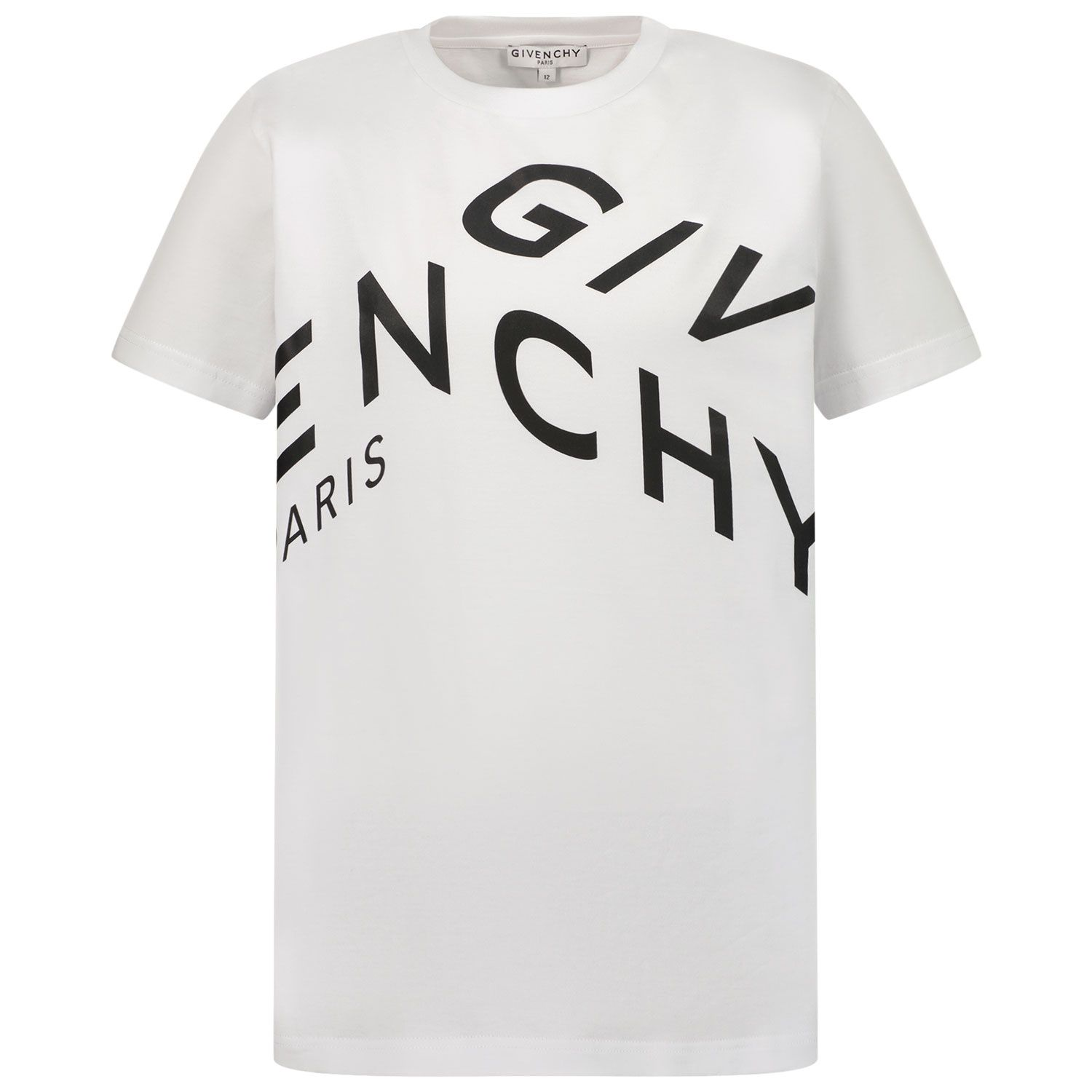 Picture of Givenchy H25245 kids t-shirt white
