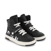 Picture of Dsquared2 68667 kids sneakers black