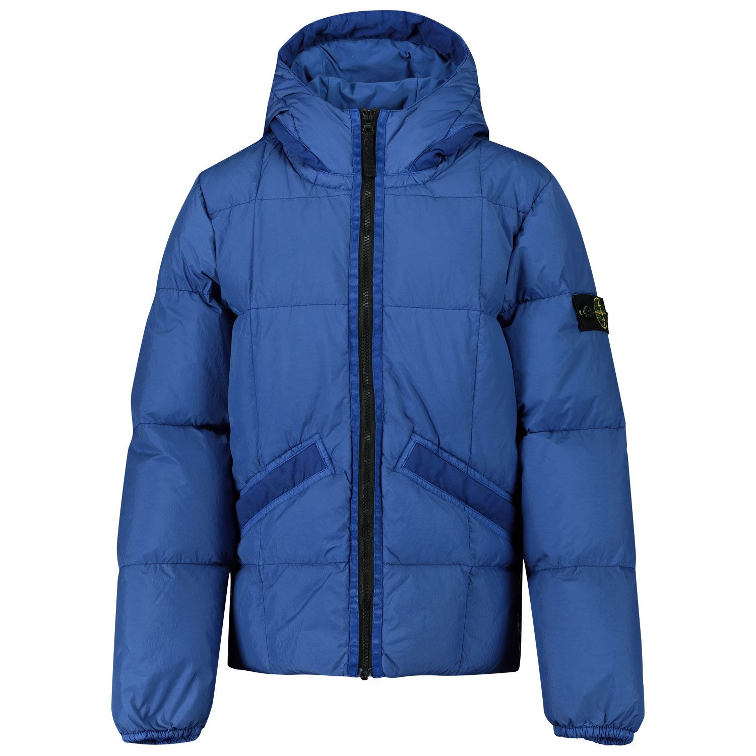 Picture of Stone Island MO731640333 kids jacket blue