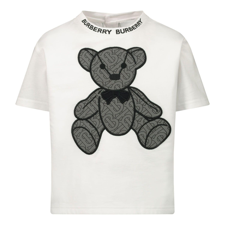 Bild von Burberry 8032681 Baby-T-Shirt Weiß