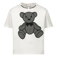 Picture of Burberry 8032681 baby shirt white