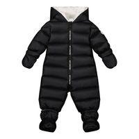 Picture of Moncler 1G51900 baby snowsuit black