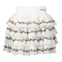 Picture of MonnaLisa 195701 kids skirt white