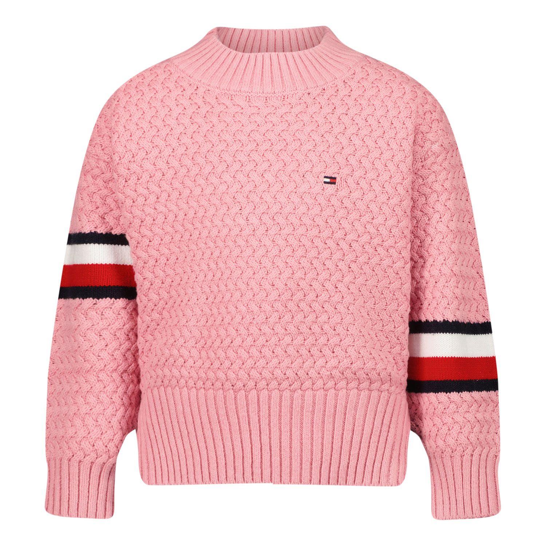 Afbeelding van Tommy Hilfiger KG0KG06186B baby trui licht roze