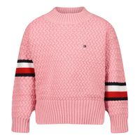 Picture of Tommy Hilfiger KG0KG06186B baby sweater light pink