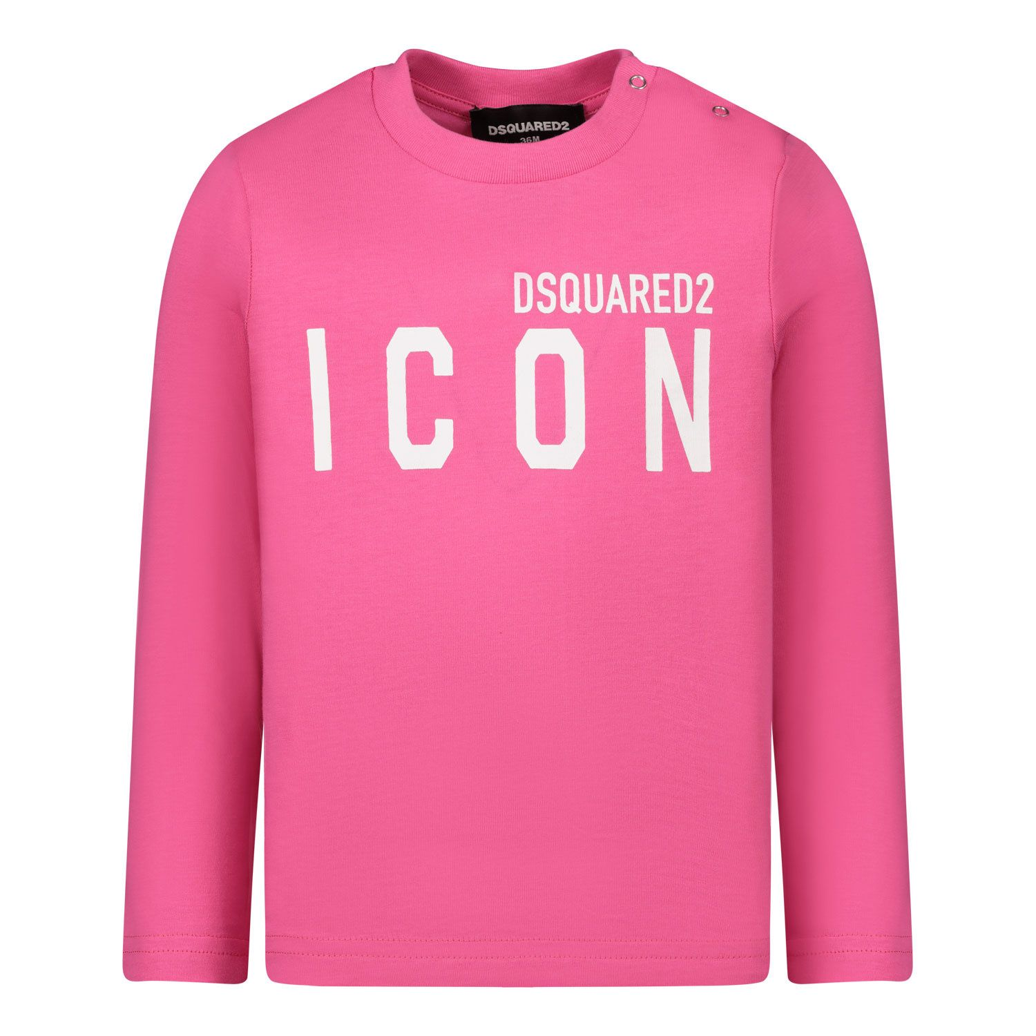 Picture of Dsquared2 DQ04D7 D00MV baby shirt fuchsia
